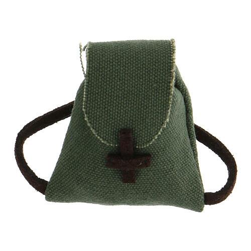 Colgante Cruz de San benito plata 925 5