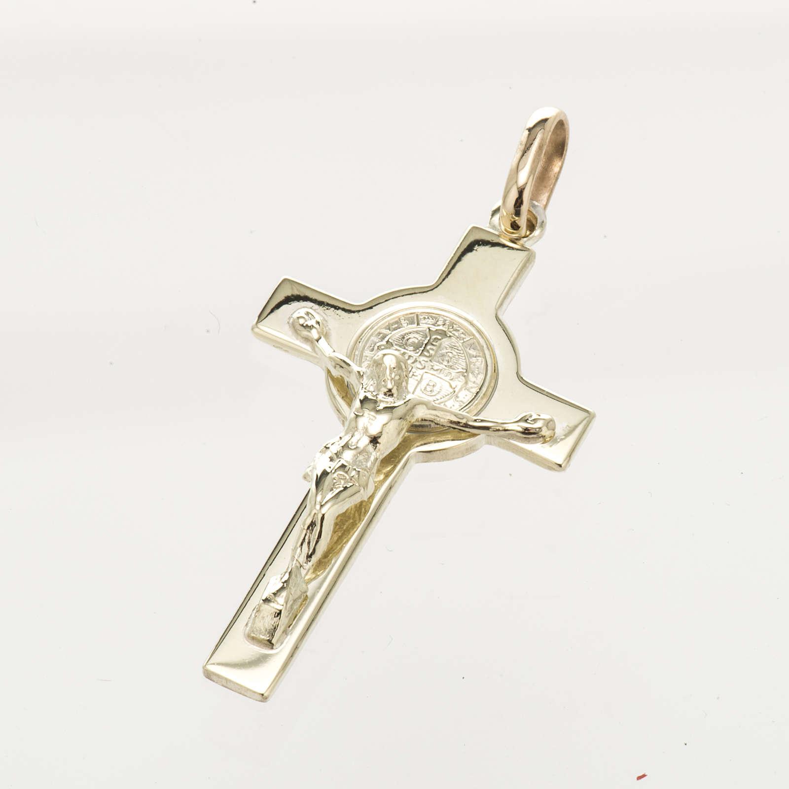 Cruz de San Benito oro 14K 4