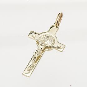 Cruz de San Benito oro 14K s1