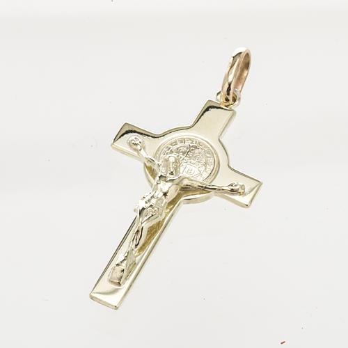 Cruz de San Benito oro 14K 1