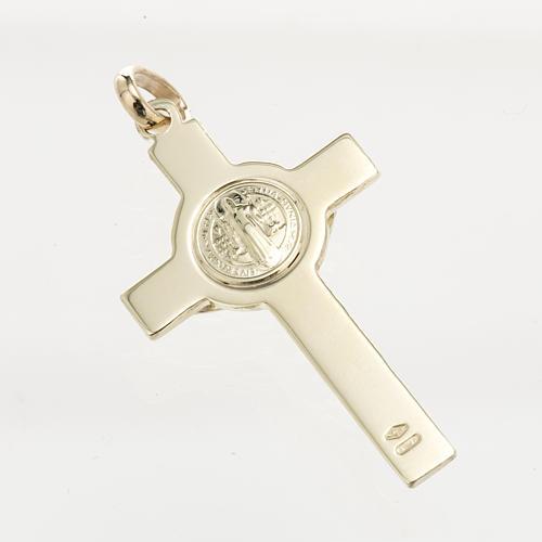 Cruz de San Benito oro 14K 3