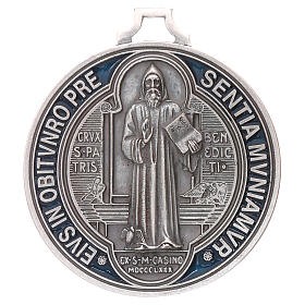 Medaille Kreuz von Sankt Benedikt 6,5 cm s1