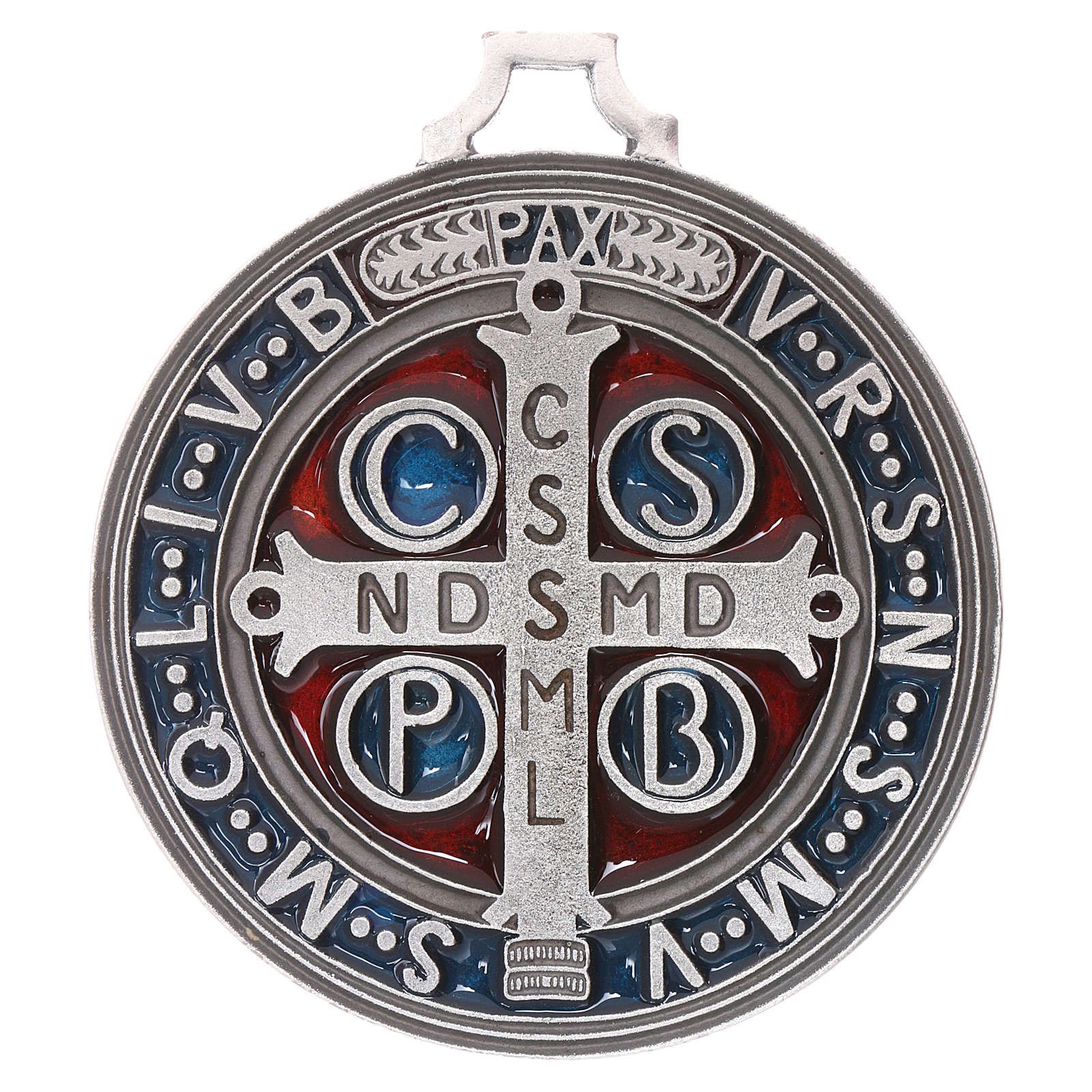 Medalla cruz San Benito cm. 6,5 4
