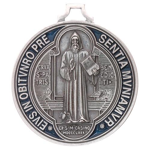Medaglia croce di San Benedetto cm 6,5 1
