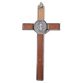 Croce San Benedetto zama intaglio legno s2