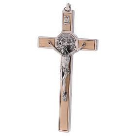 Croce San Benedetto Legno d'acero 20x10 cm s3