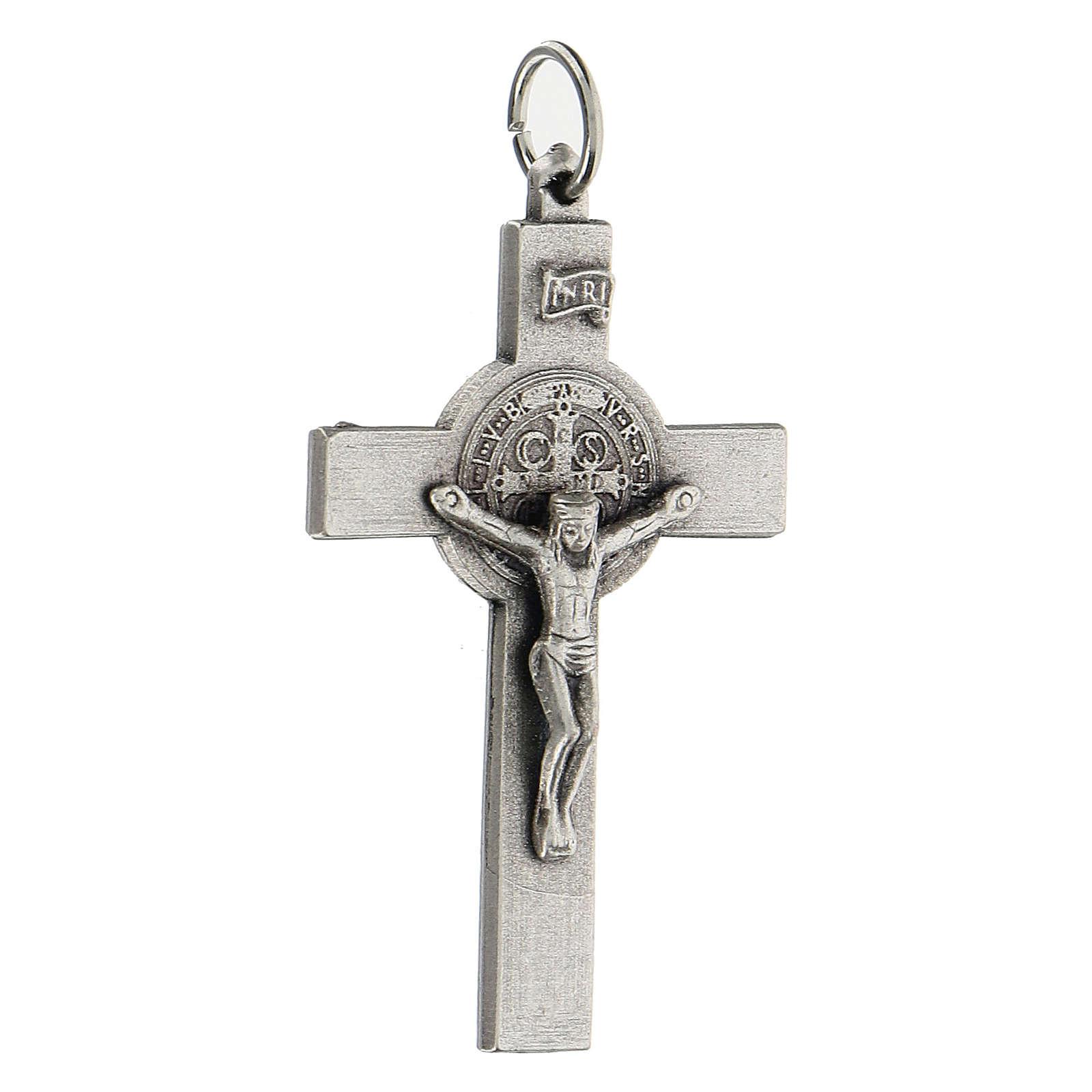 Croce classica San Benedetto 5 cm zama 4