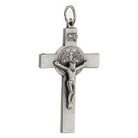 Croce classica San Benedetto 5 cm zama s2