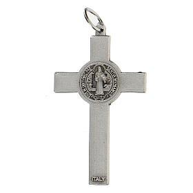 Croce classica San Benedetto 5 cm zama s3