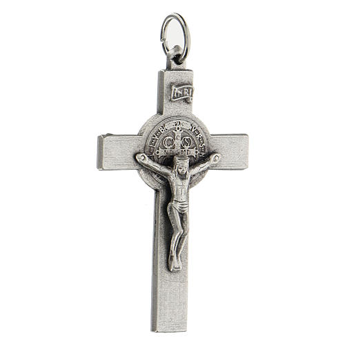 Croce classica San Benedetto 5 cm zama 2