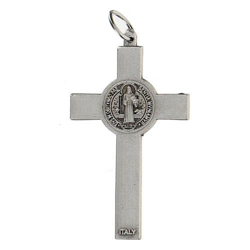 Croce classica San Benedetto 5 cm zama 3