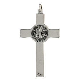 Croce classica San Benedetto 7 cm zama s2