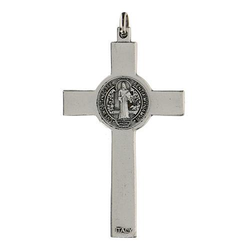 Croce classica San Benedetto 7 cm zama 2