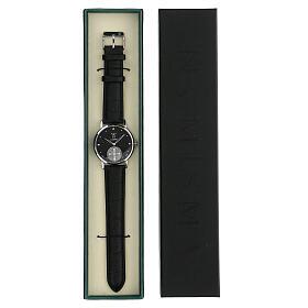 Reloj de pulsera negro San Benito plata 925 s5