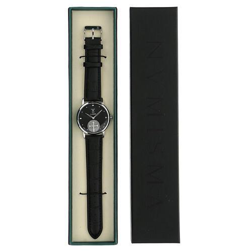 Reloj de pulsera negro San Benito plata 925 5