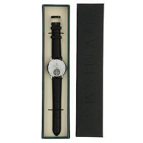 Relógio de pulso branco São Bento prata 925 s5