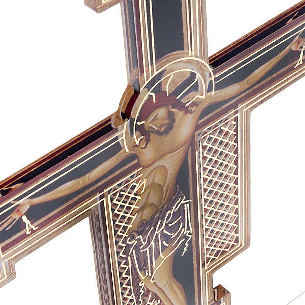 Crocifisso Giunta Pisano plexiglass 4