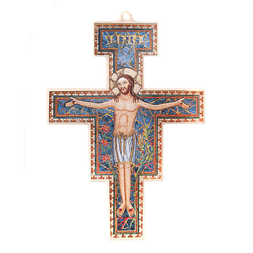 Crocifisso San Damiano plexiglass 1