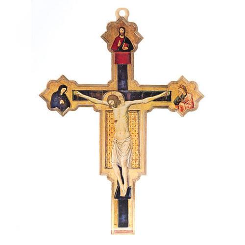 Crocifisso Giovanni da Rimini plexiglass 1