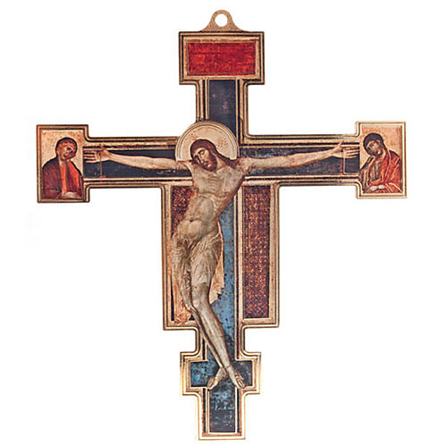 Crocifisso plexiglass Cimabue 1