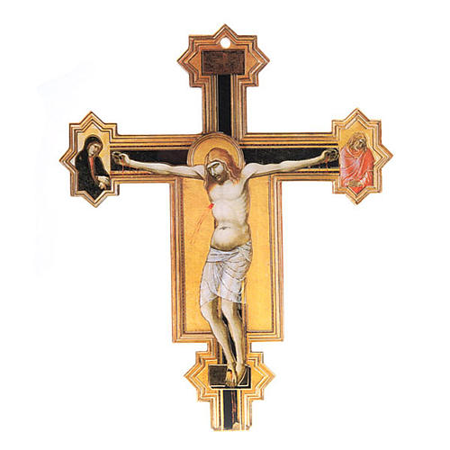 Crocifisso Pietro Lorenzetti plexiglass 1