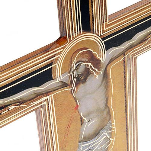 Crocifisso Pietro Lorenzetti plexiglass 2