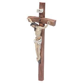 Crucifix in resin 29x13cm s2