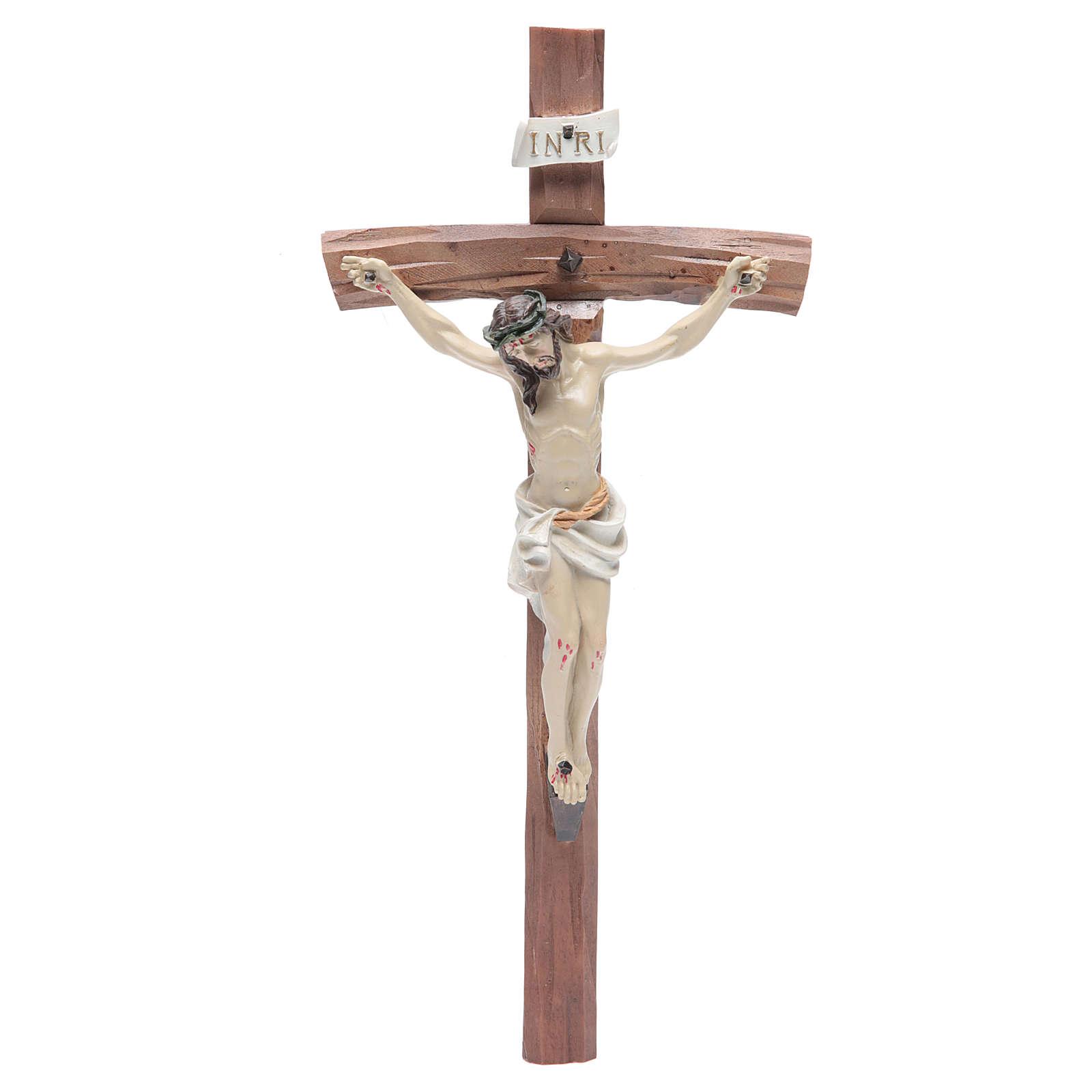 Crucifix in resin 29x13cm 4