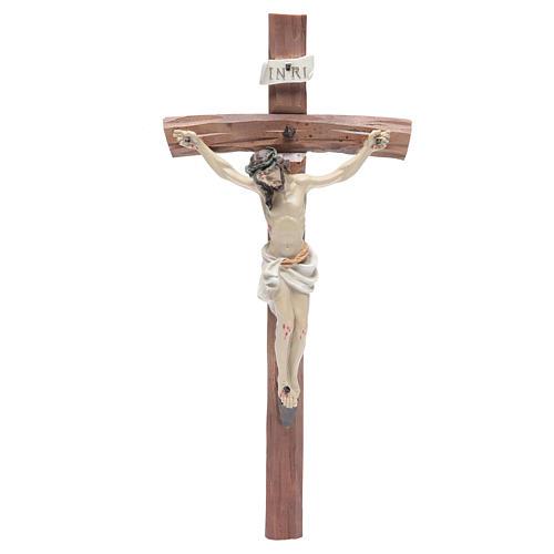 Crucifix in resin 29x13cm 1