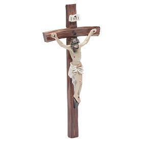 Crucifix résine 24x12 cm s3
