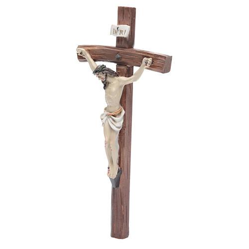 Crucifix résine 24x12 cm 2