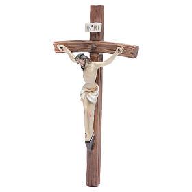 Crucifix résine 19x10 cm s2