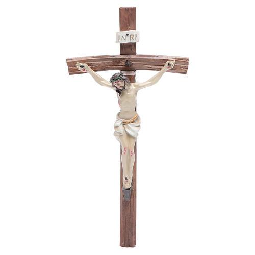 Crucifixo resina 19x10 cm 1