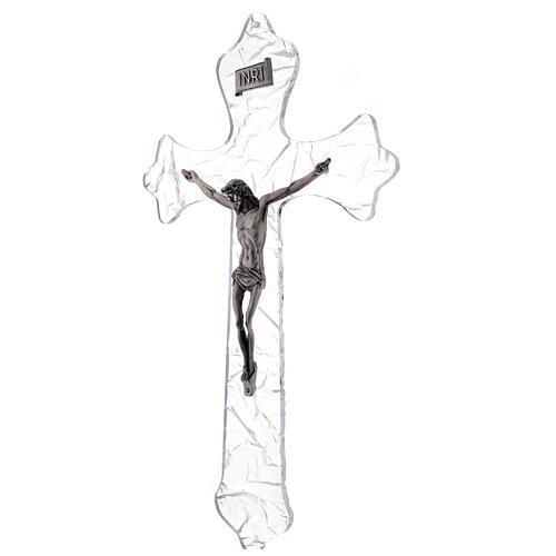 Wall crucifix in plexiglass 35 cm 3