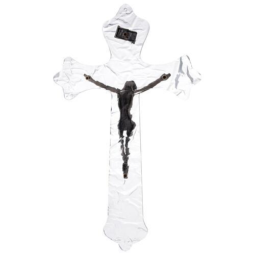 Plexiglass wall crucifix 14 inc 4