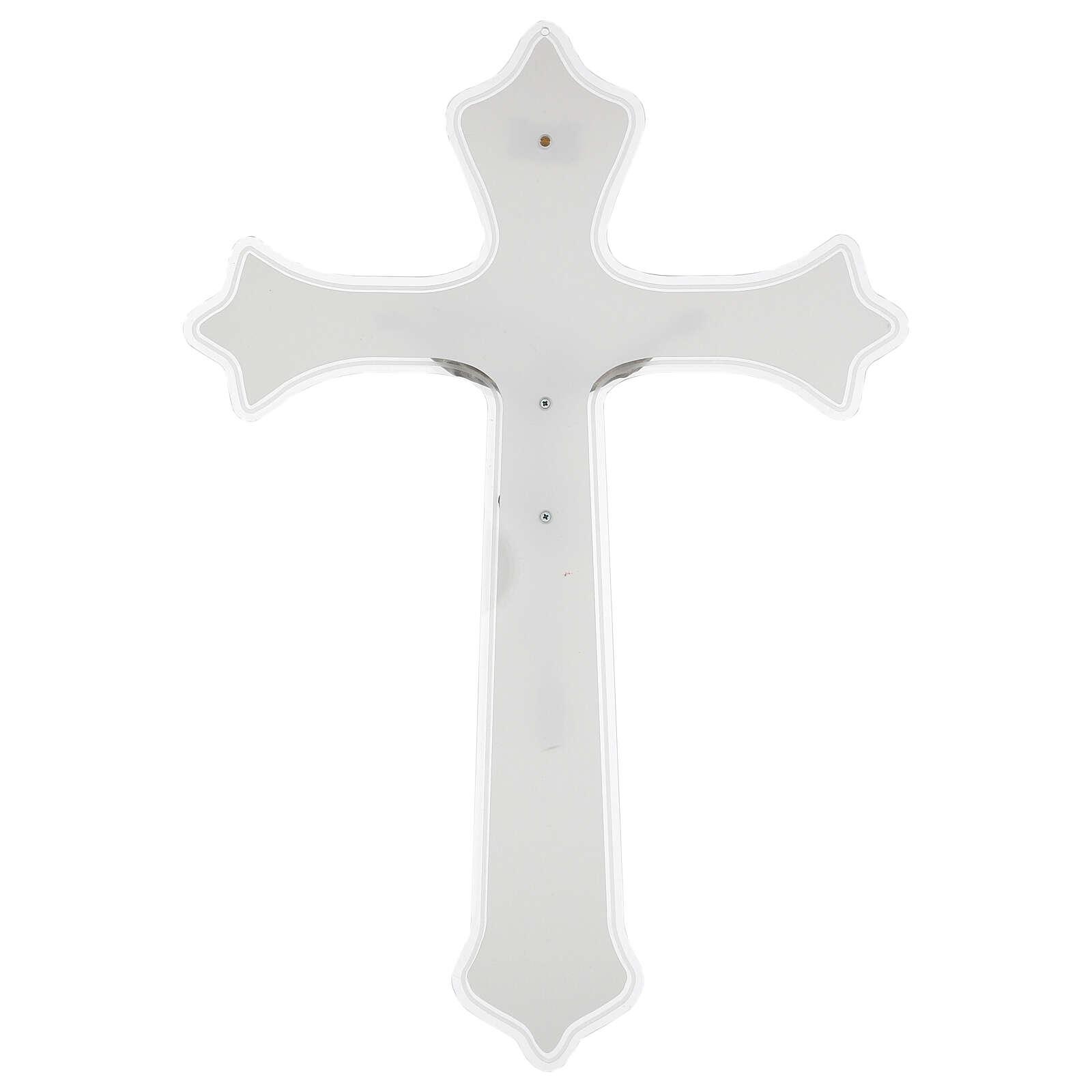 Wall crucifix in plexiglass 55 cm 4