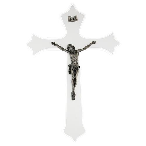 Crucifix mural en plexiglas h 55 cm 1