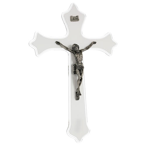 Crucifix mural en plexiglas h 55 cm 2