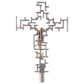 Krzyż procesyjny nowoczesny s4