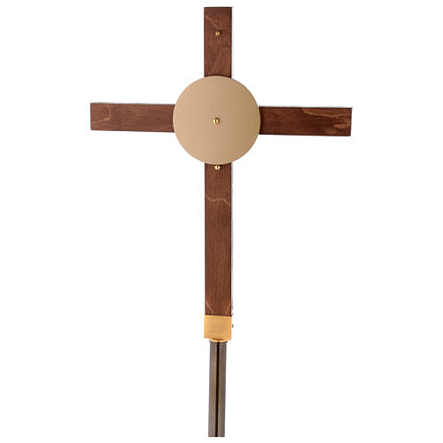 Cruz procesional haya 5