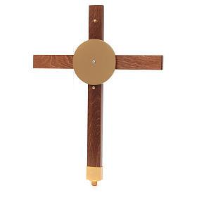 Croce astile faggio s6