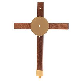 Croce astile faggio s4