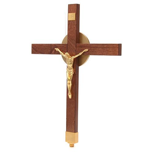 Croce astile faggio 8
