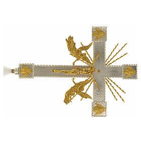 Krzyż procesyjny anioły i promienie s4