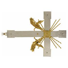Krzyż procesyjny anioły i promienie s5