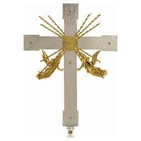 Krzyż procesyjny anioły i promienie s2