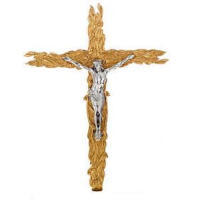 Krzyż procesyjny z liśćmi s1