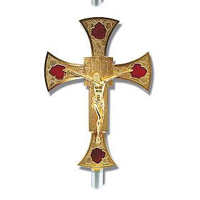 Processional cross glazed s1