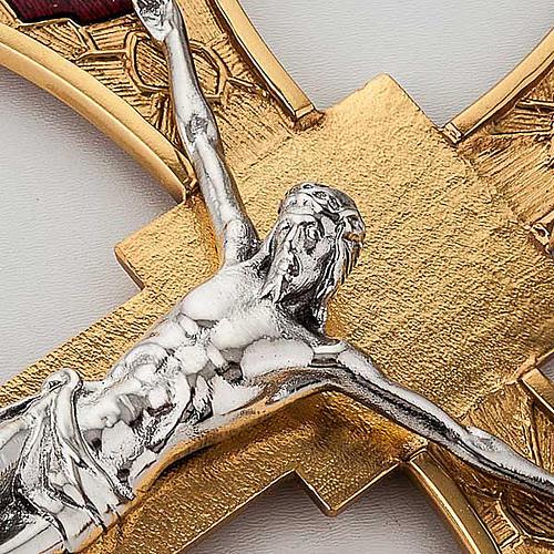 Processional cross glazed 2