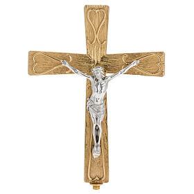 Croix métal décoré s1